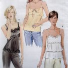 7902 Vogue Misses Summer Tops Pattern sz 12-16 UNCUT