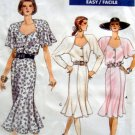 7122 Vogue Ladies Summer Dress Pattern sz 6-10 - 1988 UNCUT