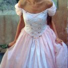 2255 Beautiful Laced Front Wedding Bridesmaid Dress Pattern sz 6-16 UNCUT