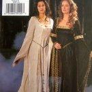 3552 History Misses Renaissance Gowns Pattern sz 6-10 UNCUT