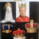 5161 History Pattern for Crowns One Size UNCUT