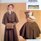 5265 History Misses Dickens Era Skirt & Cape Pattern sz 6-12 UNCUT