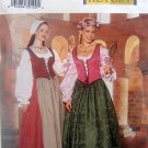 6196 Misses Serving Wench Costume Pattern sz 12-16 UNCUT