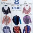 7416 Mens Western Shirt Pattern sz 42-44 UNCUT