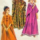 8354 Vintage Hippie Retro Caftan Pattern One Size UNCUT 1969