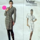 2138 Vogue Calvin Klein Fitted Dress Pattern sz 12 UNCUT