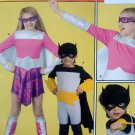 2567 Kids Super Hero Costume Pattern sz 3-6   UNCUT