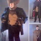 2513 Mens Werewolf Holmes Cape  Costume Pattern sz L-XL  UNCUT