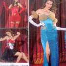 2535 Misses Torch Singer Dancer Costume Pattern sz 16-24 UNCUT