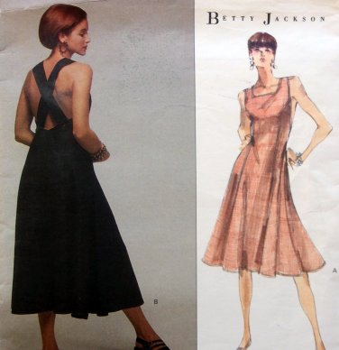 2479 Vogue Designer Betty Jackson Flared Dress Pattern sz 12-16 UNCUT