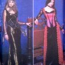 9255 Misses SEXY VAMP ELVIRA GOTH Costume Pattern sz 14-20 UNCUT