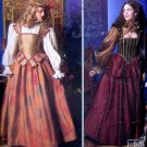 9256 Misses Medieval Dress Costume Patterns sz 14-20 - 2000 UNCUT