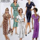 7722 Vogue Misses Fitted Bodice Front Pleat Dress Pattern sz 14-18 UNCUT 2003