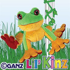 Lil' Kinz Tree Frog ~ Brand New, Sealed Tag, Unused Code!