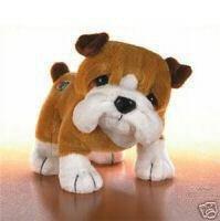 Webkinz Bull Dog (Bulldog) ~ Brand New, Sealed Tag, Unused Code!