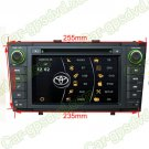 Car DVD GPS Navi Radio System for Toyota Avensis 2009- 2012 HD Digital Monitor RDS Bluetooth iPod