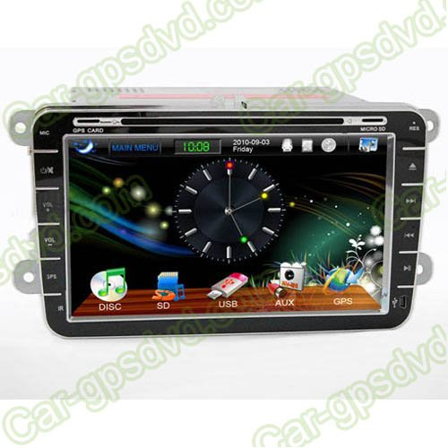 2007- 2011 VW Tiguan DVD GPS Navigation player, 3G, BT