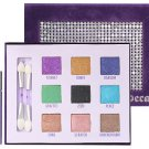Urban Decay Deluxe Shadow Box + mini Primer Potion Set ~ 9 Eyeshadows ~