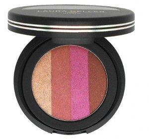 Laura Geller Baked Eye Dreams ~ Pink Sunset ~ Black Compact Palette Eyeshadow Trio + Brush New