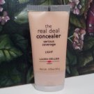 Laura Geller Real Deal CONCEALER  ~ LIGHT ~ .7oz ~ Full Size Serious Coverage