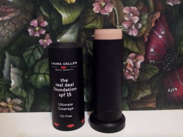 Laura Geller Real Deal Foundation ~ FAIR ~ .5 oz Full Size