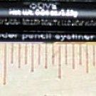 Laura Geller Powder Pencil Eyeliner ~ OLIVE (golden moss green) ~ .04 oz / 1.25 g Full Size