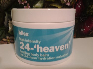 Bliss High Intensity 24 Heaven Healing Body Balm 8 oz / 225 g Full Size