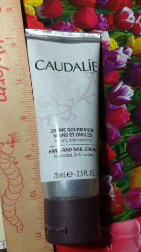 Caudalie Creme Gourmande Hand and Nail Cream 2.5 oz / 75 ml Full Size