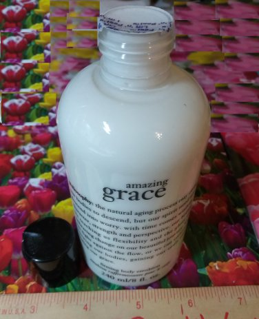 Philosophy ~ AMAZING GRACE ~ Firming Body Emulsion Lotion 8 oz / 240 ml Full Size