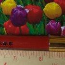 Lorac Lip Lustre Creme Lip Gloss ~ CROWN JEWEL ~ (warm red) .11 oz Full Size