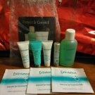 Exuviance 8 pc Travel Set ~ Neck Cream - Eye Treatments - Cleanser - Moisturizer - Serum - Clay Mask