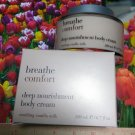 Breathe COMFORT Soothing Vanilla Milk Deep Nourishment Body Cream  Full Size Bath & Body Works
