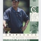 TIGER WOODS 2002 Upper Deck Chip Shots #81 PGA Golf