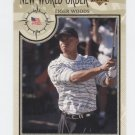 TIGER WOODS 2002 Upper Deck UD New World Order