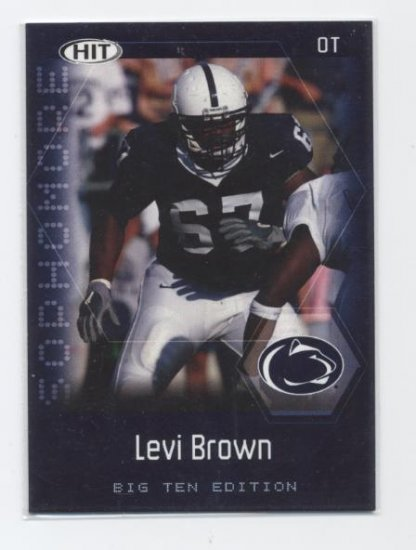 LEVI BROWN 2007 Sage Hit Big 10 Edition SOPHOMORE