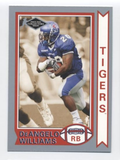 DeANGELO WILLIAMS 2006 Press Pass Collectors Series