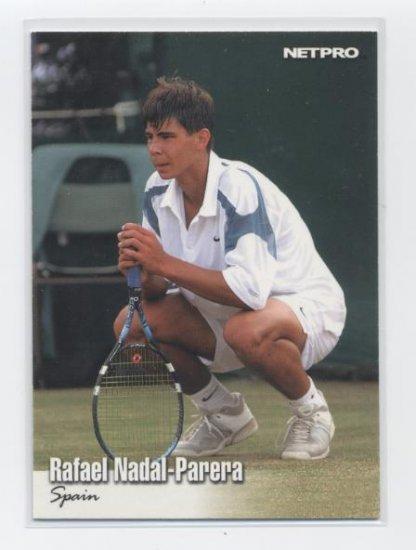 RAFAEL NADAL - PARERA 2003 NetPro #70 ROOKIE