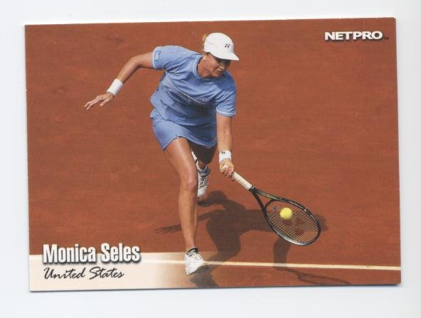 MONICA SELES 2003 NetPro #33 ROOKIE USA