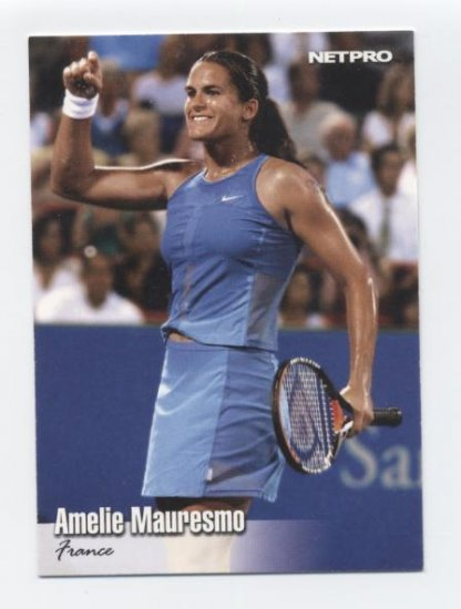 AMELIE MAURESMO 2003 NetPro #23 ROOKIE France