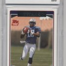VINCE YOUNG 2006 Topps #TEN11 QB Graded BCCG 10