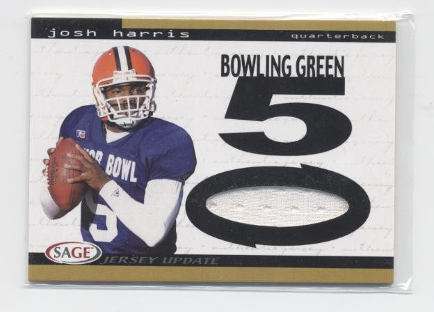 JOSH HARRIS 2004 Sage JERSEY Bowling Green ROOKIE QB