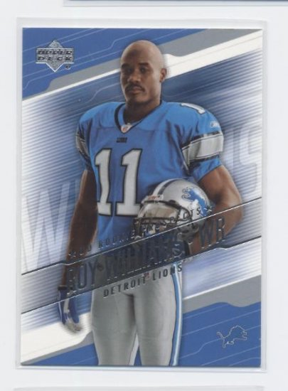 ROY WILLIAMS 2004 UD Rookie Prospects LIONS Texas