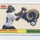 STEVEN JACKSON 2004 Fleer Tradition Signing Day ROOKIE