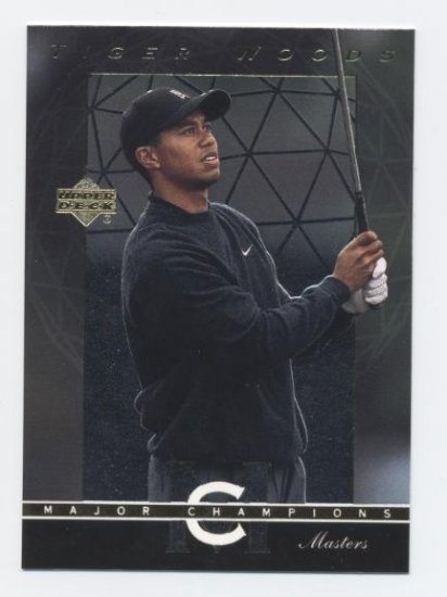 TIGER WOODS 2003 Upper Deck UD Major Champions MC-25