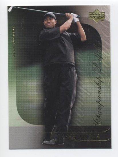 TIGER WOODS 2004 Upper Deck Championship Portfolio #2