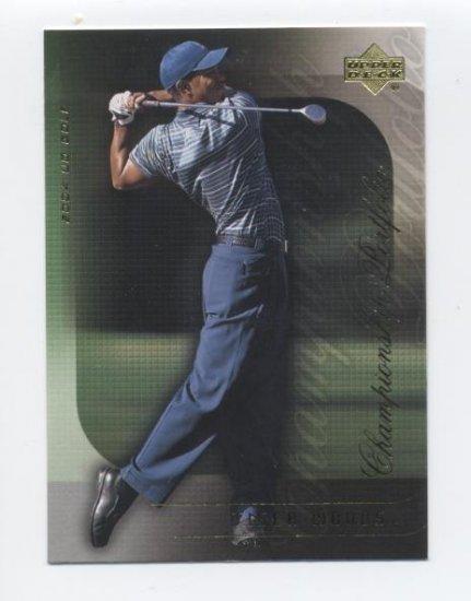 TIGER WOODS 2004 Upper Deck Championship Portfolio #8