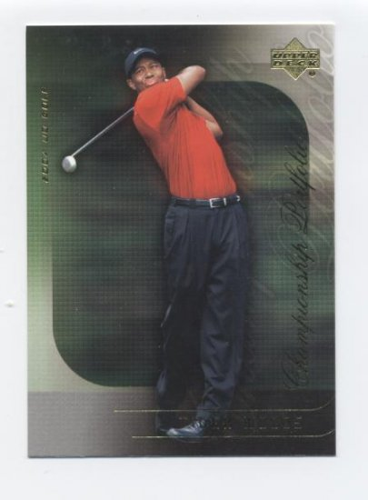 TIGER WOODS 2004 Upper Deck Championship Portfolio #9