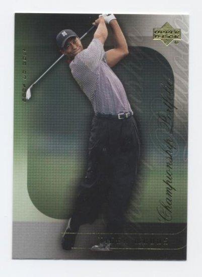 TIGER WOODS 2004 Upper Deck Championship Portfolio #18