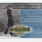 TIGER WOODS 2004 Upper Deck UD Leaderboard #57