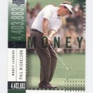 PHIL MICKELSON 2002 Upper Deck UD Stat Leaders #SL12 ROOKIE